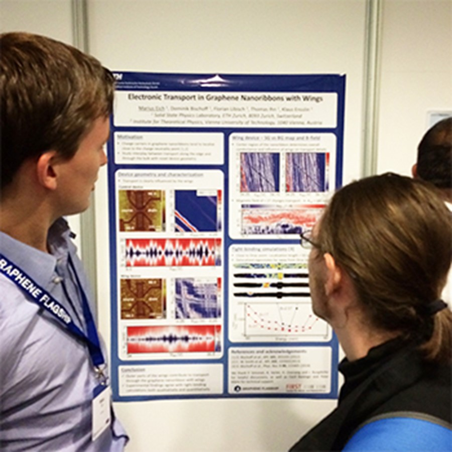 Graphene Week 2015 poster session