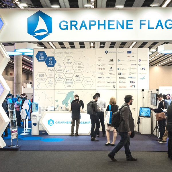 The Graphene Flagship Pavilion at MWC 2019