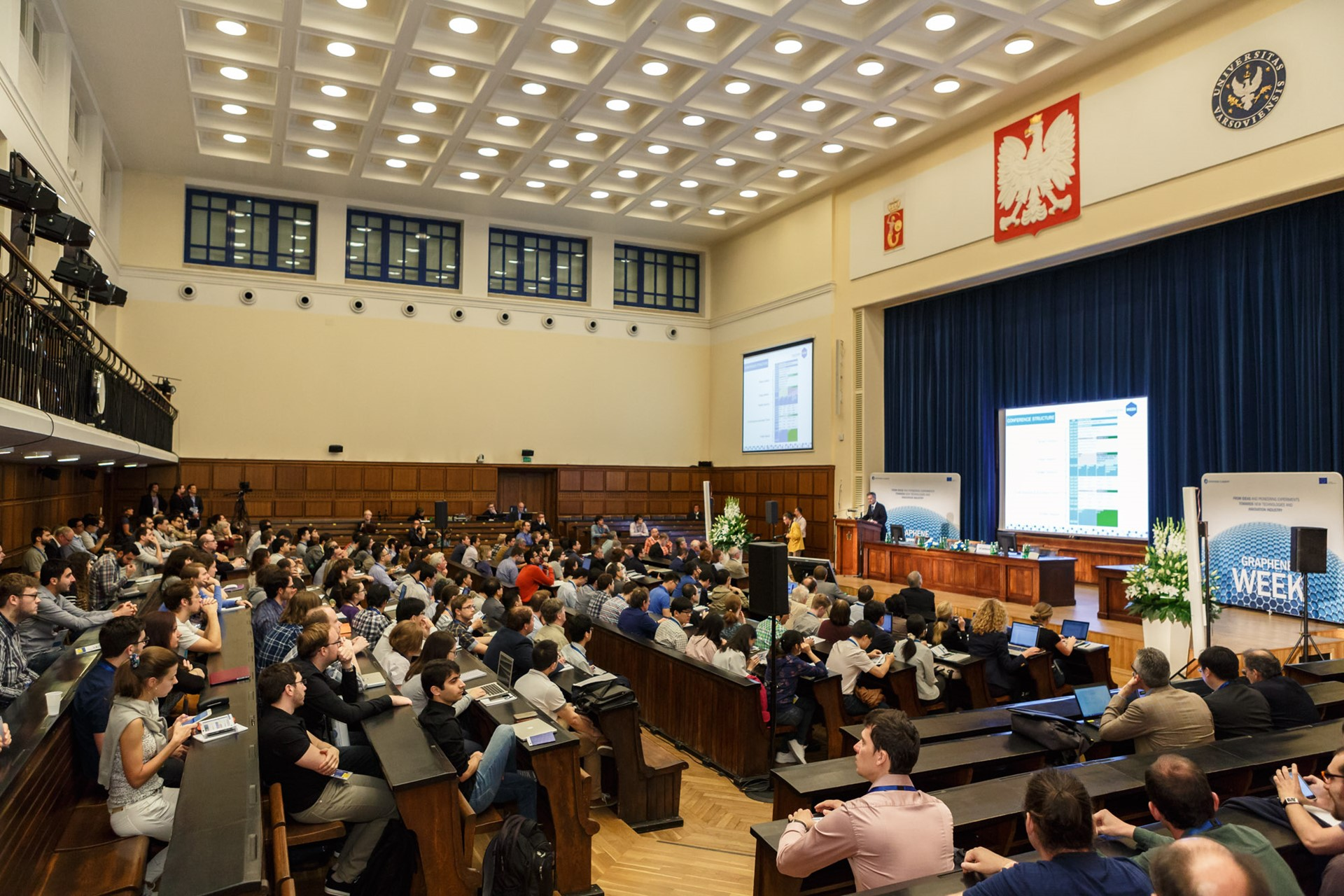 Opening session of the Graphene Week 2016