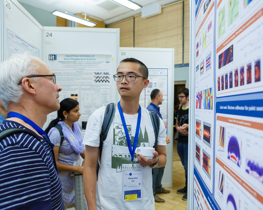 Poster session at the Graphene Week 2016