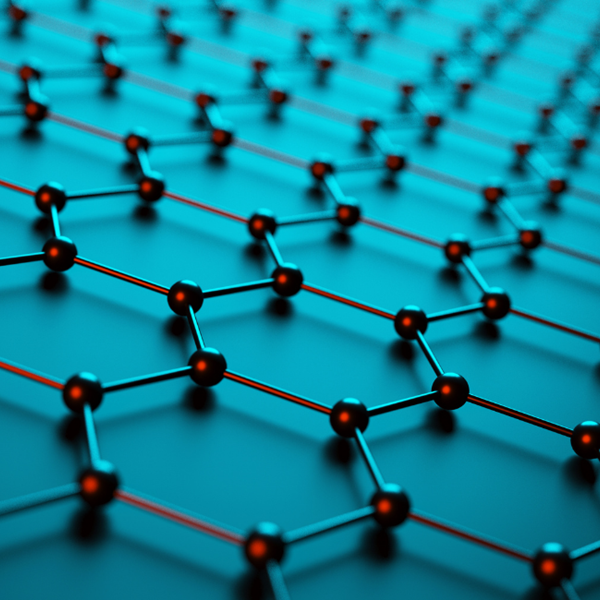 Hexagons, standardisation is crucial to the application of graphene and related materials in products.