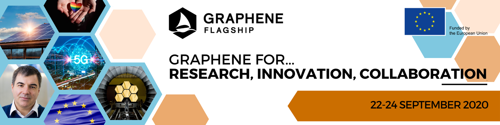Graphene For Research, Innovation, Collaboration banner